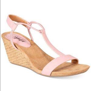 Pink Wedges